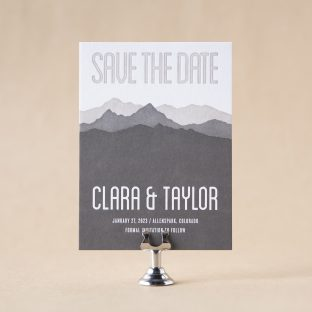Rocky Save the Date design