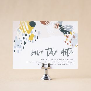 Sundry Save the Date design