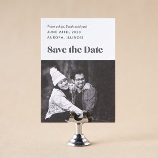 Vaast Save the Date design