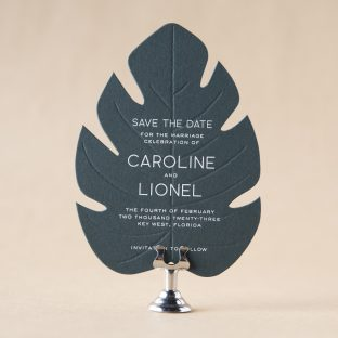 Pura Vida Save the Date design