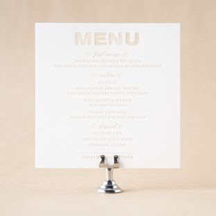 Rooney Menu design