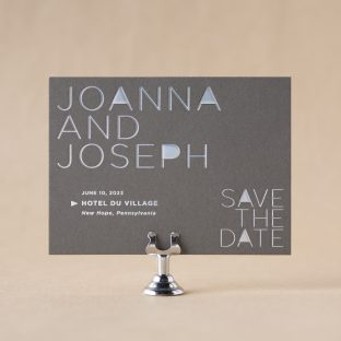 Vertex Save the Date design