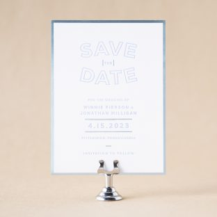 Winnie Save the Date design