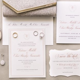 townsend inspired wedding invitations