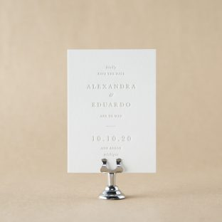 Gable Save the Date design