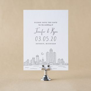 Henry Save the Date design