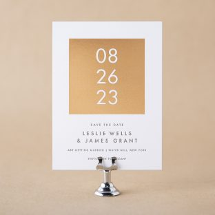 Parrish Save the Date design
