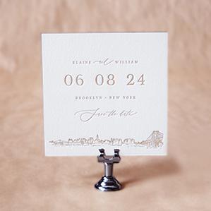 Kent Save the Date design