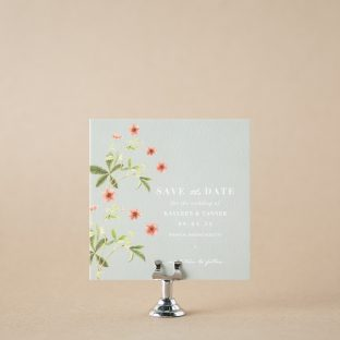 Glenna save the date design