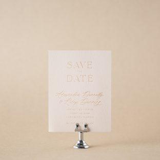 Vero save the date design