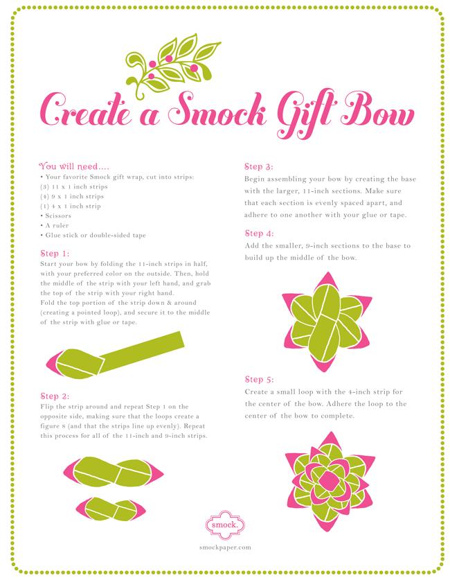 Diy With Smock Gift Bows Smock