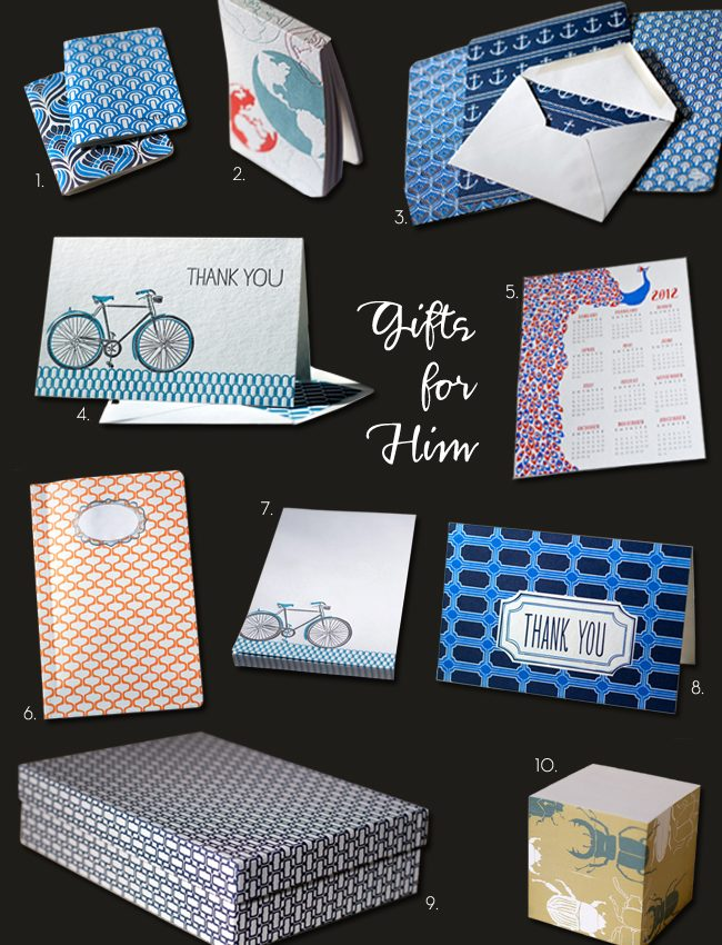 Smock's best selling, 'man-friendly' stationery.