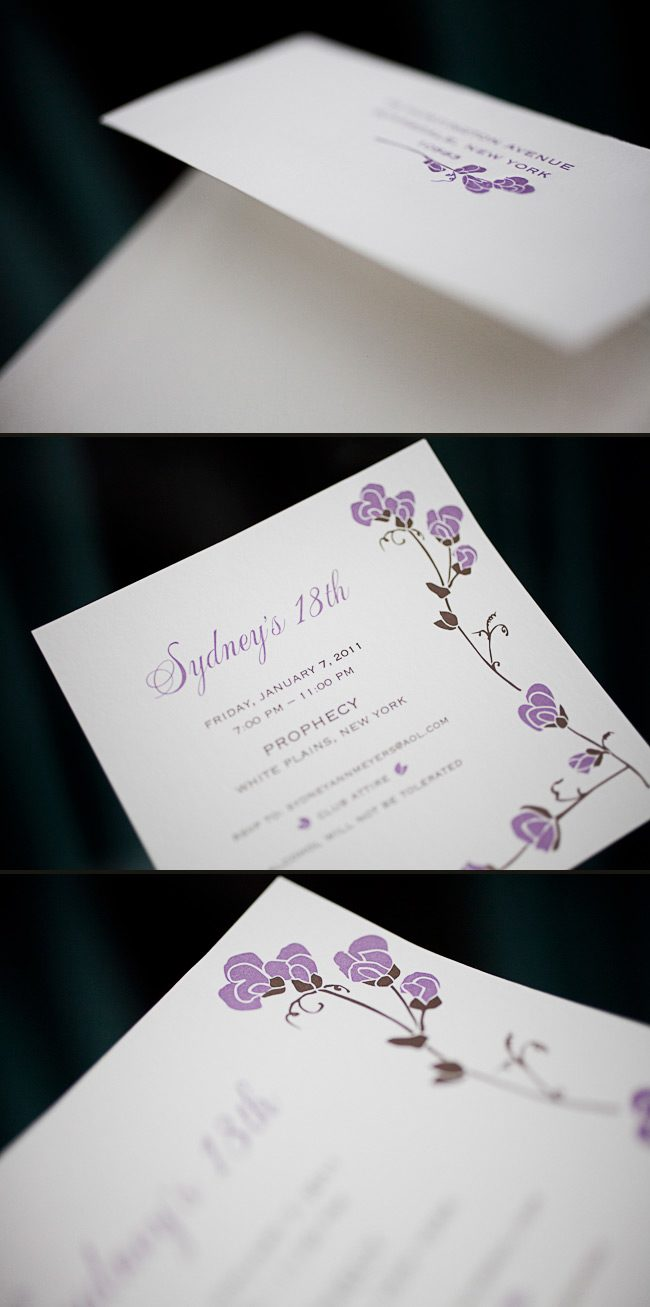 offset birthday party invitations