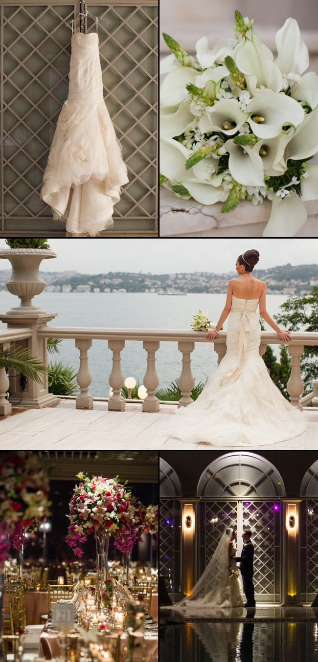 A real wedding shoot from a bride that worked with Sarah Hanna