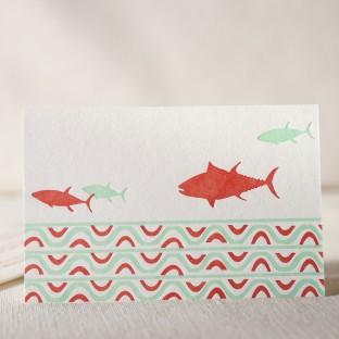 Fin letterpress cards