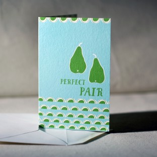 Perfect Pair greeting card (offset)