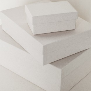 Kraft nested boxes