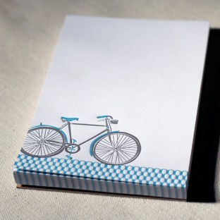 photo of Bicyclette scratch pad wide