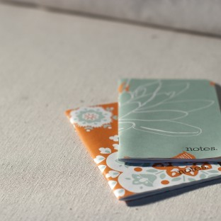 Persimmon jotter notepad