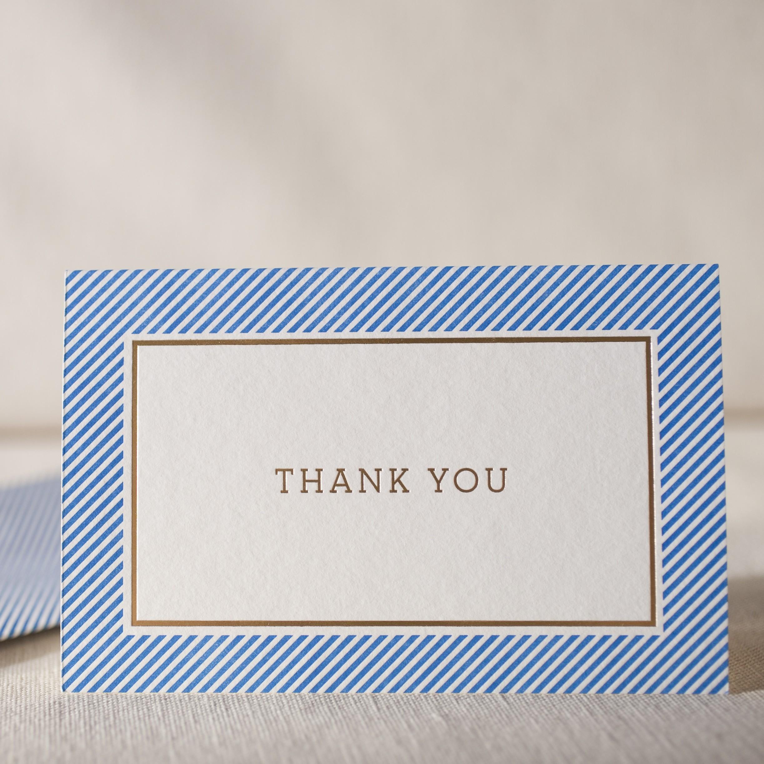 cambridge letterpress and foil cards  smock