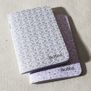 Mineral jotter notepad