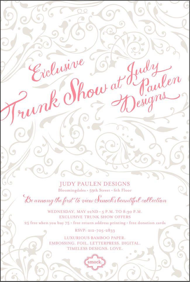 Smock Trunk Show At Judy Paulen Designs On May 22 Come See Our Brand New Album Smock