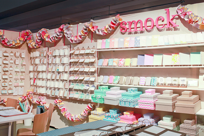 Smock's 2013 National Stationery Show booth display