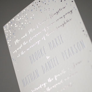Custom Wedding Invitation Samples