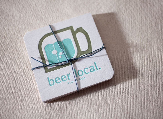100% of the profits from Smock's Buy Local coasters benefit Syracuse First. These coasters will be available at the Buy Local Bash