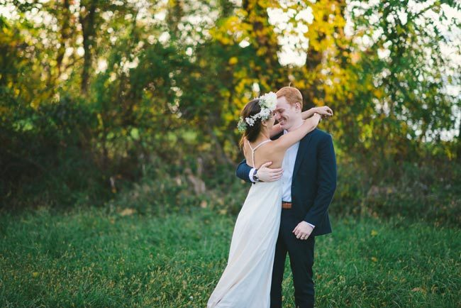 Rustic eco-friendly wedding inspiration shoot with photography by Kate Ignatowski