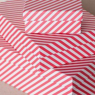 Candy Stripe boxes