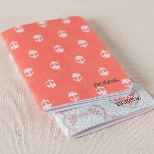 Papaya jotter notepad