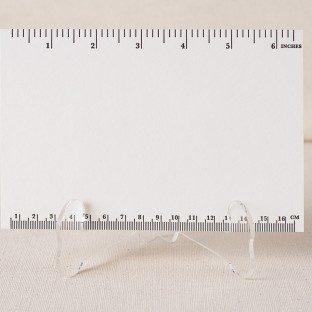 Ruler letterpress cards
