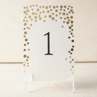 Dots table top card A