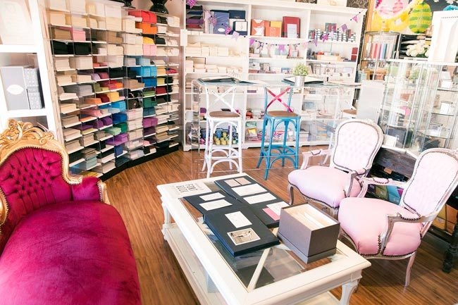 Inside Annie P. Paperie, a Smock retailer in Perth, Australia
