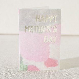 Mother's Day Beauty digital + foil mother's day card from Smock