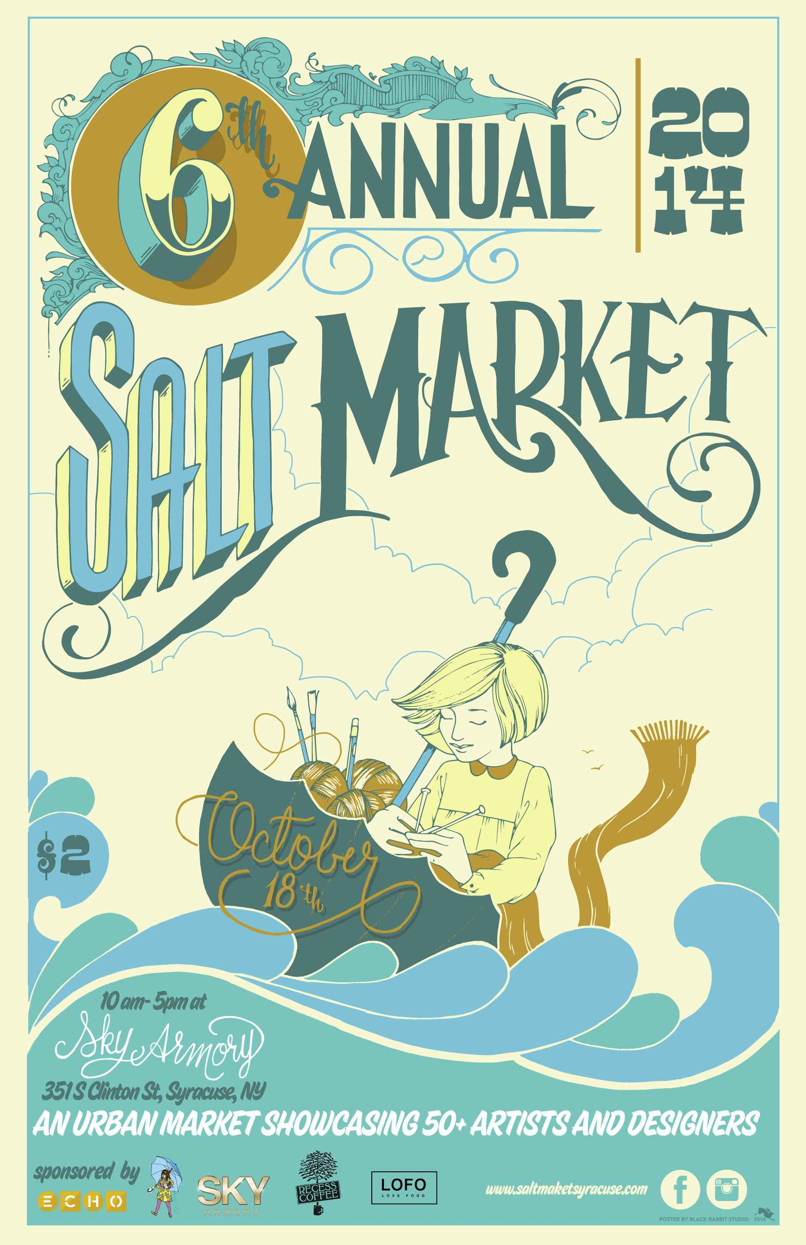 Visit Smock at the 2014 Syracuse Salt Market!