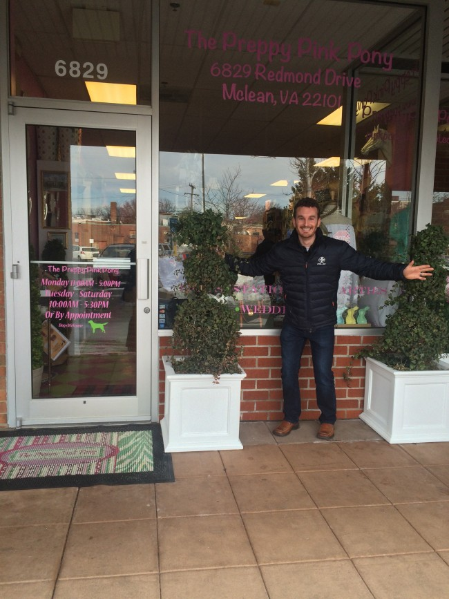 Smock visits the Preppy Pink Pony in Mclean Virginia