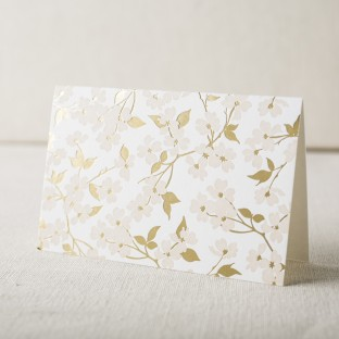 Pink + gold floral social notes from Smock