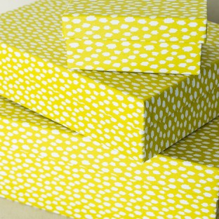 Chartreuse boxes | ikat keepsake boxes from Smock