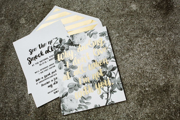 Smock's 2015 National Stationery Show mailers
