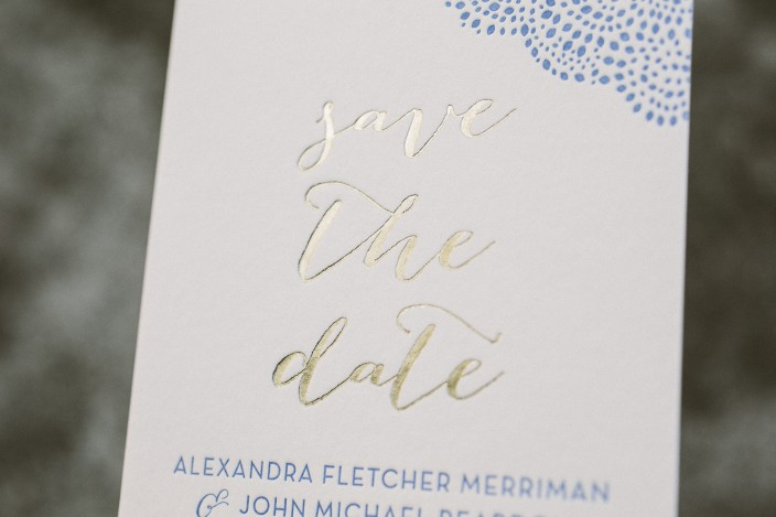 Perfect save the dates - Smock. VH56