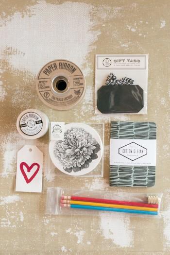 Oh So Beautiful Paper Swag Bag goodies
