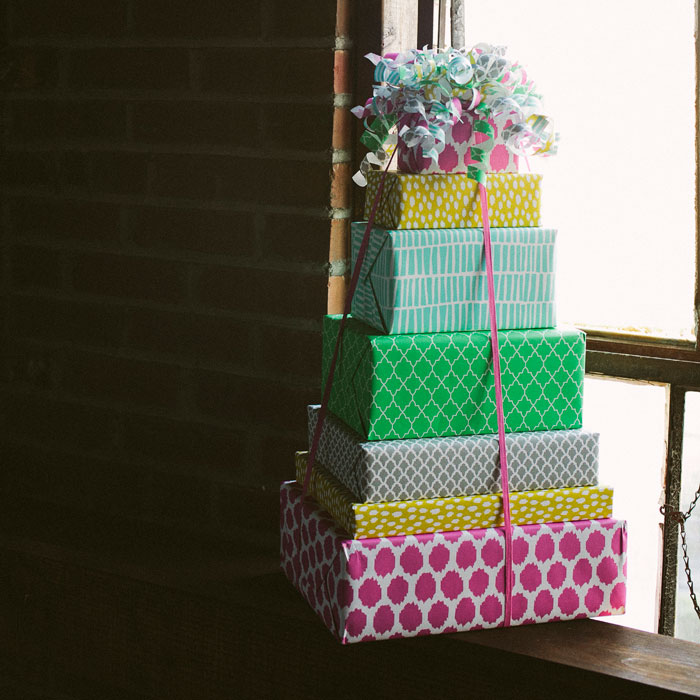New single-sided gift wrap patterns from Smock