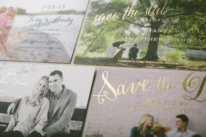 Photo save the dates from Smock