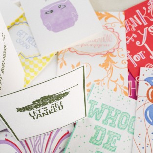 Smock sample sale! Occasion cards from Smock on sale - 10 cards for $10