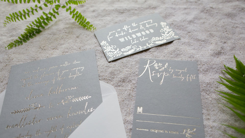 Pricing for custom wedding invitations from Smock