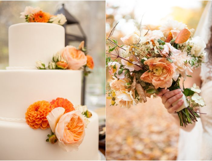Real Smock wedding at A Private Estate featuring Michael Scott Catering + flowers by Saipua