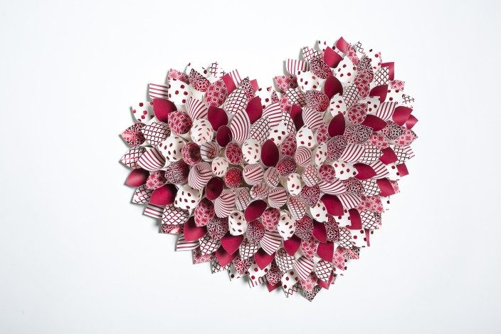 Valentine's Day Wreath from Smock