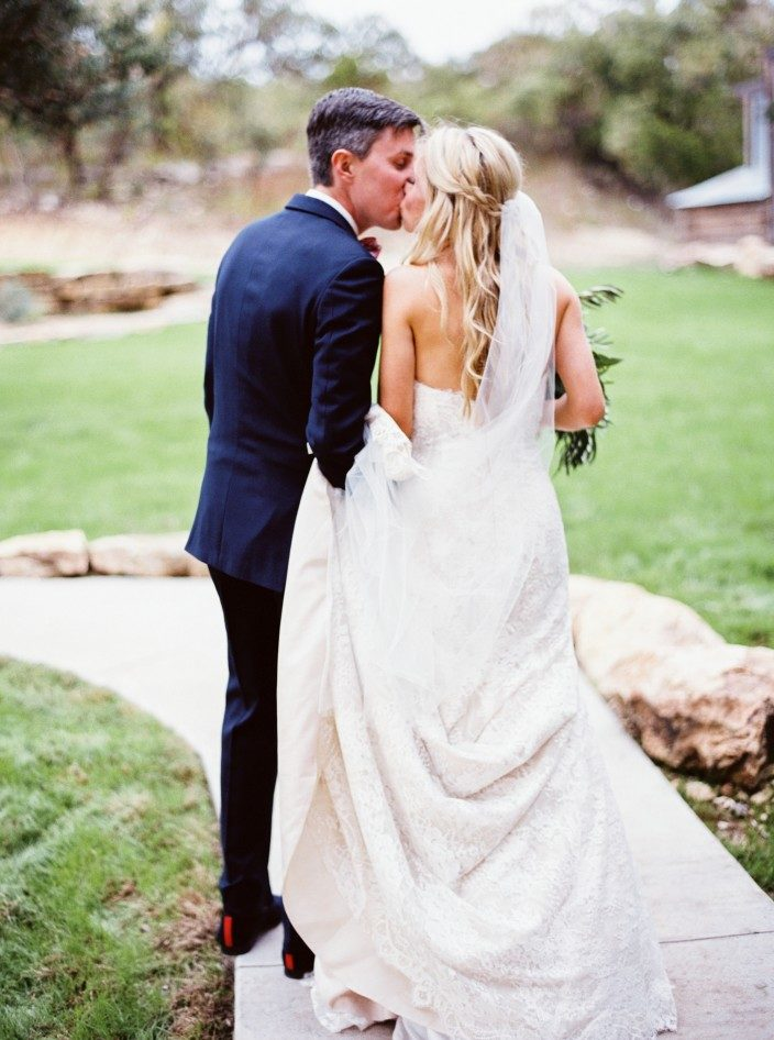 Rustic wedding at the Creek Haus in Texas